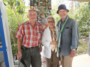 Hans Fritschi (left) could welcome Penny and Kurt Wachtveitl at Discovery Garden Pattaya